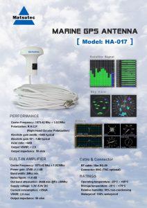 GPS antenne matsutec_specs