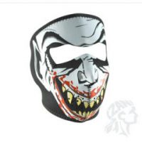 2503-0176 GLOW-IN-THE-DARK VAMPIRE FULL FACE MASK ONE SIZE