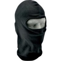 25030139 FULL FACE BALACLAVA ONE SIZE SOLID BLACK