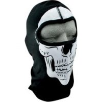 25030140 SKULL FULL FACE BALACLAVA ONE SIZE