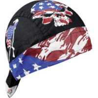 2504-0201 FLYDANNA® VINTAGE PATRIOT TIE-ON HEADWRAP ONE SIZE