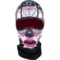 25030273 SUGAR SKULL FULL FACE BALACLAVA ONE SIZE