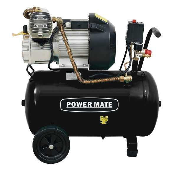 power mate 50 l kompressor 400 l min gratis utstyrspakke. Black Bedroom Furniture Sets. Home Design Ideas